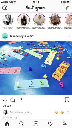 Preschool Curriculum, Kindergarten Activities, Classroom Activities, Teaching Math, Preschool Activities, Maths Eyfs, Math Classroom, Year 1 Maths, Tuff Spot