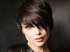 short hair style. love this.
