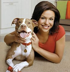 "Rachael Ray and her dog ""Boo."""