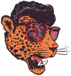Rumble In The Jungle by Pedro Lourenco, via Behance