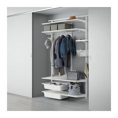 ALGOT Wall upright/shelves/rod IKEA The parts in the ALGOT series can be combined in many different ways and easily adapted to your needs and space.