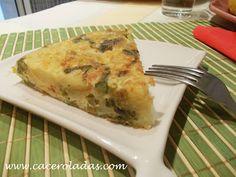 Caceroladas: Tortilla de patatas con esparragos trigueros
