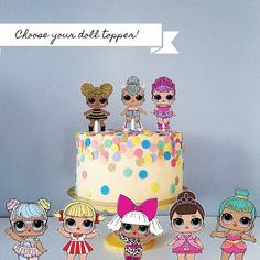 Image result for lol surprise doll birthday cake