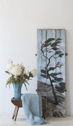 Windblown Pine, Acrylics on Reclaimed Dock boards x Wildlife Paintings, Acrylics, Pine, Boards, Artist, Pine Tree, Sup Boards, Amen, Artists
