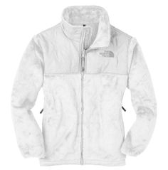 He needs to get me a White Fleece Northface Jacket so I know it's real.