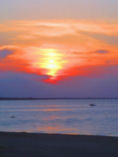 VA beach sunset.