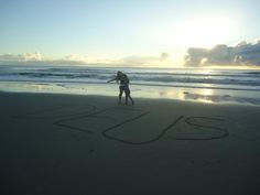 Praia...(foto antiga)