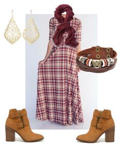 """Fall plaid #agnes&Dora"" by mamapea08 on Polyvore featuring Steve Madden, Athleta, Bling Jewelry and Kendra Scott"