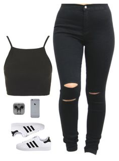 """got spring 2015 poppin"" by itscindyrella ❤ liked on Polyvore featuring Topshop and adidas Originals"