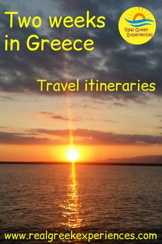 Start planning your Greek vacation with these itinerary suggestions for spending 2 weeks in Greece. Includes wchih Greek islands to visit, best beaches and more! Greek Islands To Visit, Greece Islands, Greece Vacation, Greece Travel, Europe Travel Guide, Travel Destinations, Travel Guides, Travel Tips, Best Beaches In Europe
