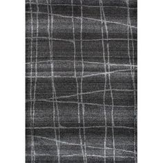 Mercury Row Zuri Chalkboard Checkers Gray Area Rug Rug Size: