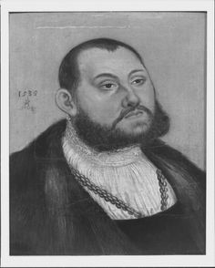 """Johann Friedrich I, """"der Grossmuthige"""", Elector of Saxony (1503-1554)  Signed and dated 1535"""