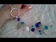 Collar largo con perlas (bisuteria) - YouTube