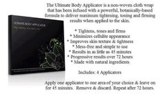 tighten,tone and firm your body:) Save My Marriage, Marriage Advice, Ultimate Body Applicator, Crazy Wrap Thing, Loose Skin, Body Wraps, Stretch Marks, Natural Treatments