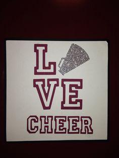 Cheer locker decoration Cheerleading high school years Locker