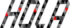 #typography #design #triangle