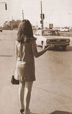 Hitchhiking, 1960s