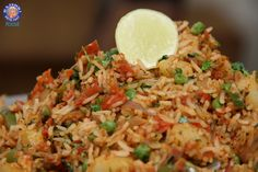 Tawa Pulao - #Indian #Rice Variety - Spicy Maincourse Rice #Recipe By Ruchi Bharani.