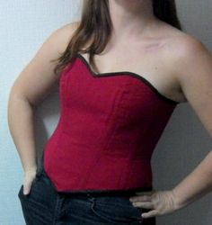 Faire son propre corset sur-mesure en 10 étapes - Dans la tête de Liette