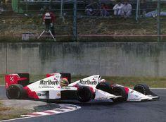 f1 1989, XVI Japanese Grand Prix.Suzuka-Senna-Prost-Tension.-Que tiempos! Eran como niños