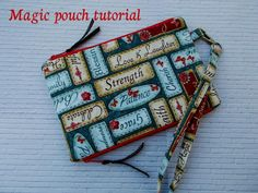 Magic pouch tutorial | Craftsy