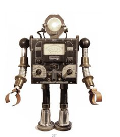 Spot - wonderful robot created by Bennett Robot Works ***Research for possible future project.