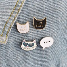 Apparel Sewing & Fabric New Fashion Cartoon Funny Spoof Cactus Cat Pins And Brooches Pin Badges Hat Backpack Accessories Lovers Jewelry Gift Elegant And Sturdy Package