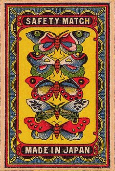 Vintage Illustration Arnon Reisman - A Phillumenist: Lovely rare Japanese labels (gallery Art And Illustration, Vintage Illustrations, Japanese Illustration, Vintage Graphic Design, Graphic Art, Vintage Prints, Vintage Art, Graffiti, Vintage Packaging