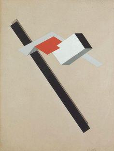 El Lisitzky, Proun GK, 1922-23
