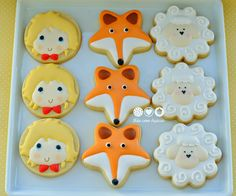 Mãe com Açúcar: O Pequeno Príncipe - The Little Prince  Decorated Cookies