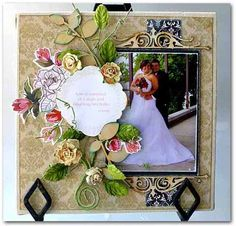 Wedding  -  Emma's Paperie: Focus on Wood project by Sherry Wright
