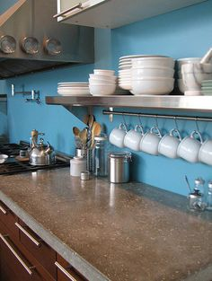 Concrete kitchen counters?