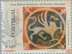 Stamp: Tegels (Madeira Islands) (Tiles of Madeira) Mi:PT-MD 198,Yt:PT-MD 205,Afi:PT 2597