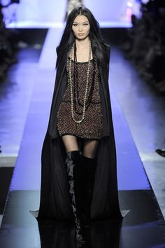 Jean Paul Gaultier Fall 2009 Couture Collection Slideshow on Style.com