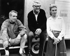 Paul Newman, Cary Grant, and Joanne Woodward  unknown date