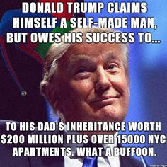 Donald Trump - no way I vote for this buffoon in 2016! - Meme on Imgur