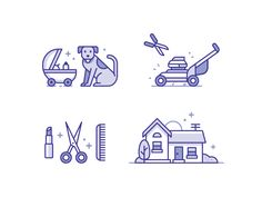 Dribbble - Service Icons 2 by Matt Anderson