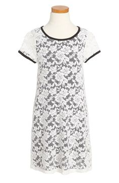Ruby+&+Bloom+Lace+Dress+(Little+Girls+&+Big+Girls)+available+at+#Nordstrom