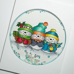 Hi guys!   I thought I'd pop in and share a few Christmas cards today. I usually start making them in October and never end up having enough...