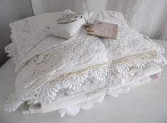 Alte Weißwäsche zum sammlen...verarbeiten...dekorieren...