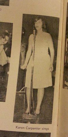The Carpenters High School Yearbook 1964 Karen and Richard Carpenter
