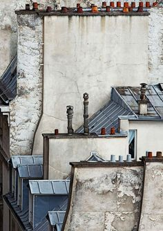 'Paris Abstract' or Paris Roof Tops by Michael Wolf.