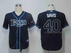 http://www.xjersey.com/rays-40-davis-dark-blue-jerseys.html RAYS 40 DAVIS DARK BLUE JERSEYS Only 32.17€ , Free Shipping!