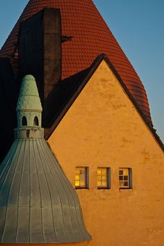 Olofsborg, 1903, architects Gesellius, Lindgren, Saarinen, Katajanokka, Helsinki, Finland