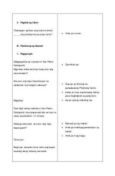 Detalyadong Banghay-Aralin sa Filipino V 4a's Lesson Plan, Daycare Lesson Plans, Lesson Plan Format, Lesson Plan Examples, Science Lesson Plans, Teacher Lesson Plans, Science Lessons, Lesson Plan In Filipino, The Cure