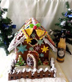 Eierlikör Rezept: Weihnachtliches Verpoorten-Lebkuchenhaus - Backrezepte - VERPOORTEN