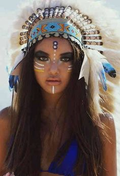 Wearable Technology In Education enough Wearable Technology News till New Gadgets 2019 Australia Indian Costumes, American Makeup, Native American Beauty, Wearable Technology, Technology News, Festival Makeup, Future Fashion, War Paint, American Indians