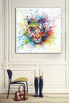 Wanddeko - Bild auf Leinwand - ein Designerstück von Ortons bei DaWanda Designer, Tapestry, Etsy, Painting, Home Decor, Art, Wall Canvas, Hanging Tapestry, Art Background