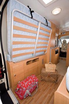 Trigano Tribute 665 fixed rear bed high top campervan conversion - Tim Aldiss - Loft Sites