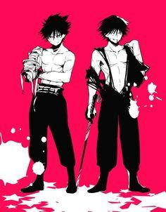 Feitan and hiei yu yu hakusho Hunter x Hunter